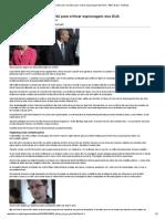Dilma usará discurso na ONU para criticar espionagem dos EUA - BBC Brasil - Notícias