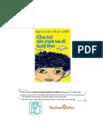Cho Toi Xin Mot Ve Di Tuoi Tho - Ng Nhat Anh