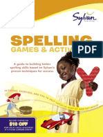 First Grade Spelling Games & Activities by Sylvan Learning - Excerpt