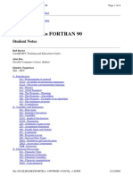 Fortran 90 - Reference