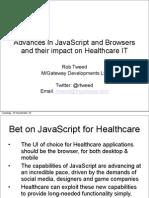 Rob Tweed HANDI Health Apps