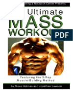 The Ultimate MASS WORKOUT