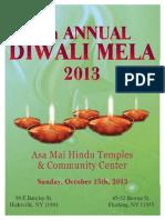 Afghan Hindu Association Publication for Diwali 2013, by Gobind Bathija