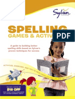 Second Grade Spelling Games & Activities by Sylvan Learning - Excerpt
