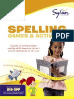 Second Grade Spelling Games & Activities by Sylvan Learning - Excerpt