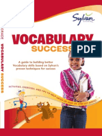 Third Grade Vocabulary Success by Sylvan Learning - Excerpt