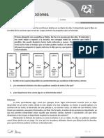 Ficha 5, Secuencia de Acciones