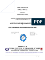 report on trade finance