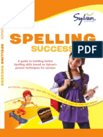 Fourth Grade Spelling Success by Sylvan Learning - Excerpt