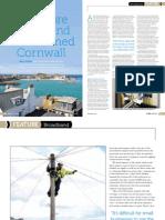 How fibre broadband transformed Cornwall