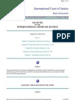 ICJ Statute