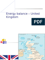 Energy Balance United Kingdom (UK)