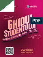 Ghidul Studentului Din Universitatea Babes Bolyai 2013 2014