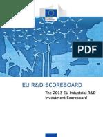 Topul Companiilor Dupa Investitiile in Cercetare Si Dezvoltare (R&D), 2013