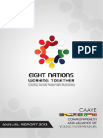 CAAYE Annual Report 2013