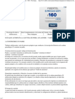 Guía Complementaria a la Lectura de Piera Aulagnier - UBA - Psicologia - Psicologia Evolutiva Adolescencia - Cat