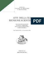 Fabrizio Nicoletti et alii, L'insediamento abitato dell'età del Bronzo di Erbe Bianche (Campobello di Mazara - Trapani - Sicily)