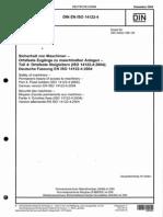 DIN en ISO 14122-4 1204 Ortsfeste Steigleitern