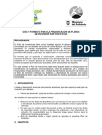 Formato Plan Inversion Participativo