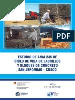 Ladrillos Cusco-CIclo de Vida