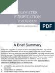 Water Purification Program