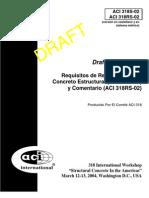ACI 318-S Glossary