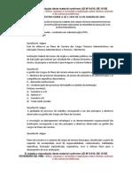 QUESTÕES SOBRE A LEI 1.11091 - TEC. ADMINISTRATIVOS EM EDUCAÇÃO