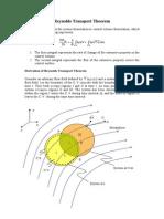 Derivation of RTT
