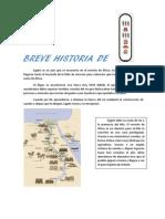 Breve Historia de Egipto, Por Paula