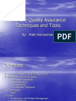 Matt Heinzelman Software Quality Assurance Presentation