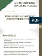 Habilidades Sociales en El Conductor Profesional