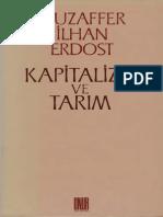 Muzaffer İlhan Erdost - Kapitalizm ve Tarım