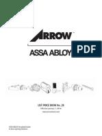 Arrow 2014 Price Book