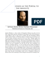 Consciousness as a Portal to the Absolute - Stephen Wolinsky Interview