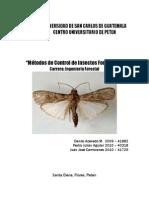 Metodos de Control de Insectos Forestales