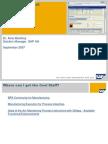 2007 Boost the PI Sheet SAP Adaptive Manuf Summit