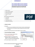 AC Manual FanTestic CustomizedReports