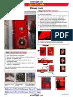 AC QuickGuide Blower Door QG301 DM32