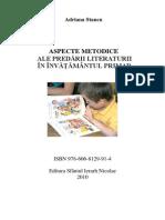 Aspecte Metodice Ale Predarii Literaturii Adriana Stancu(1)