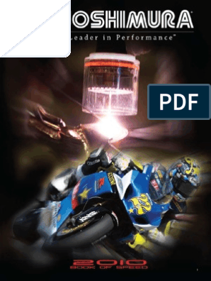 2010 Yoshimura Book of Speed | Motorcycle | Motorcycling