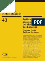 Análisis Sociológico del Sistema de Discursos