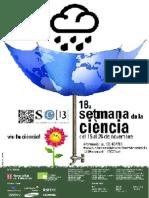 Cartell Setmana Ciencia 2013 Retallada
