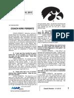 Coach Ferentz - 11 19 13