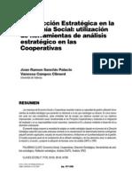 La Dirección Estratégica en la eco social