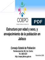 Estadistica de Poblacion Coepo Guadalajara SCJM