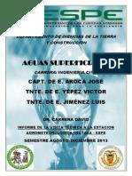Informe Visita Est. Meteorologica Iasa