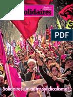 Solidaire - brochure présentation