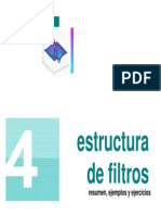 Estructura de Filtros Resumen