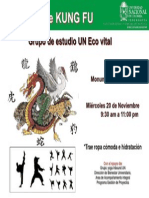 Flyer Yoga Miercoles