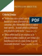 DEFINIREA CONCEPTULUI DE ARHITECTURĂ